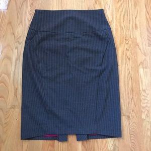Express high waste skirt size 4